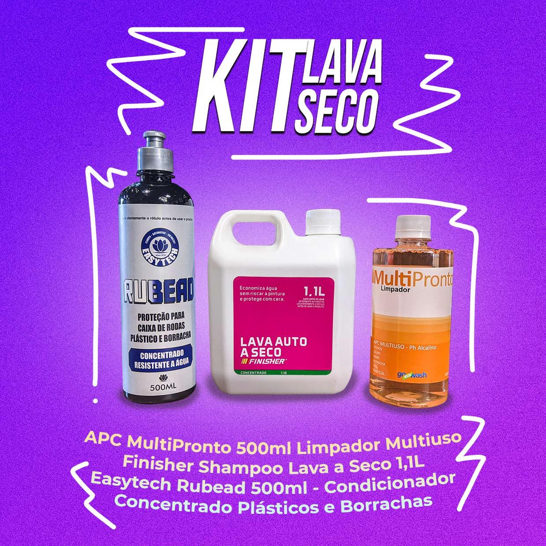 Kit Produtos Lava a Seco Completo 1,1L