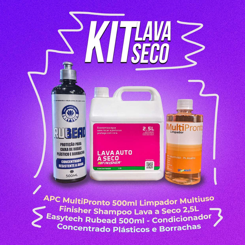 Kit Produtos Lava a Seco Completo 2,5L