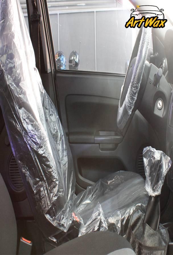 Kit Proteção interna transparente Capa reis - 4 peças