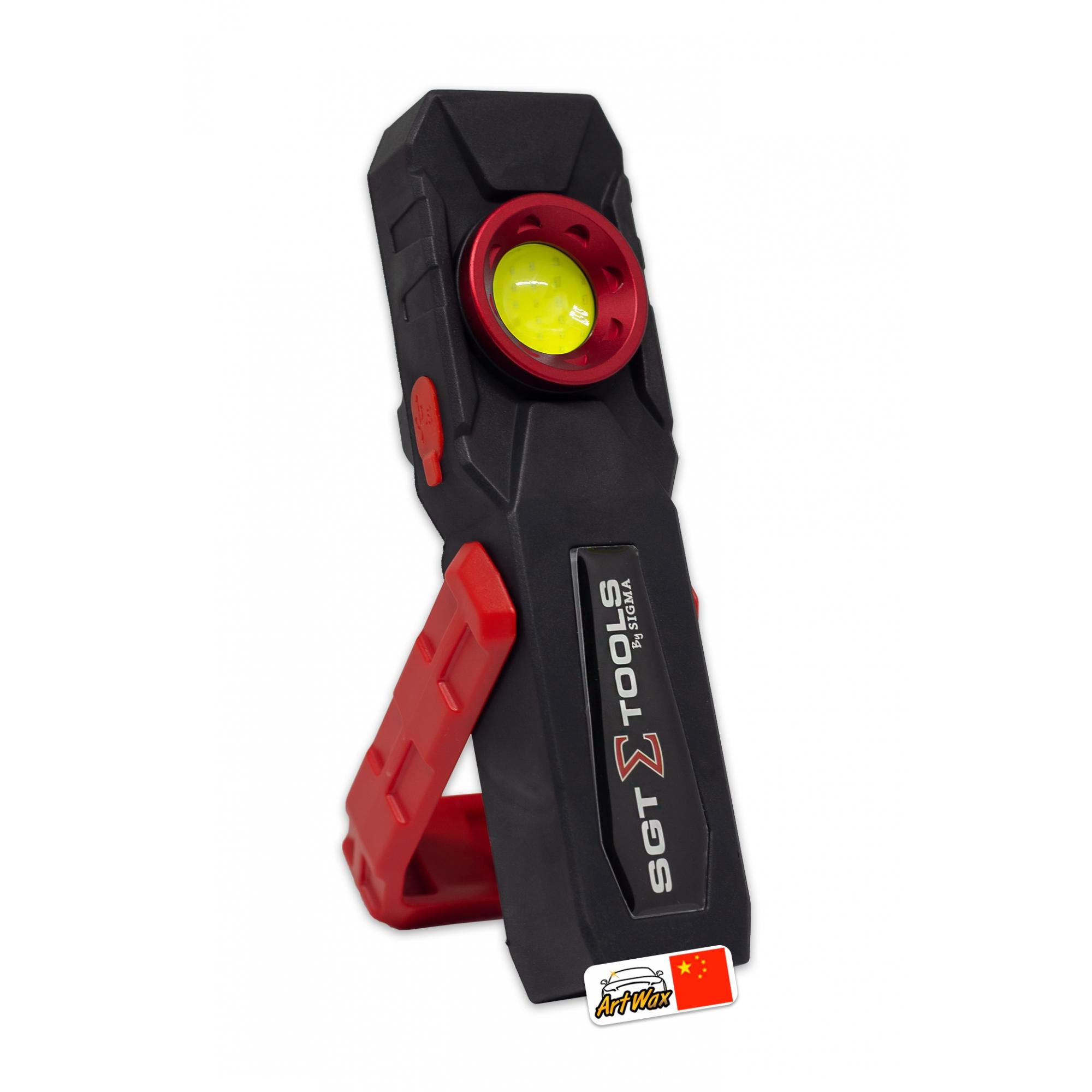 Lanterna de Inspeção Led SGT-8502 Sigma Tools (Com Função Power Bank)