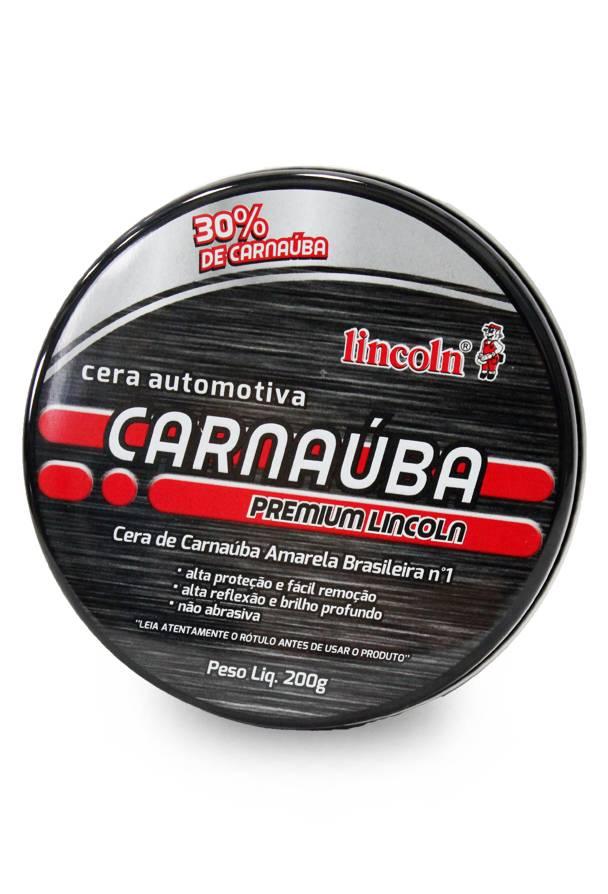 Lincoln Cera De Carnaúba Premium 200g