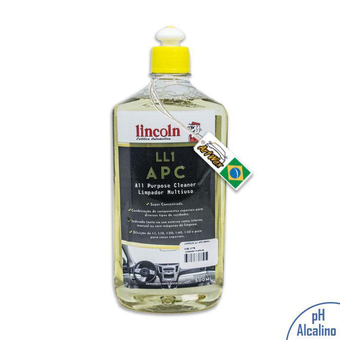 Lincoln LL1 APC Limpador Multiuso Concentrado - 500ml