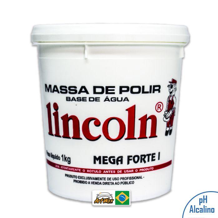 Lincoln Massa de Polir Mega Forte I (1kg)