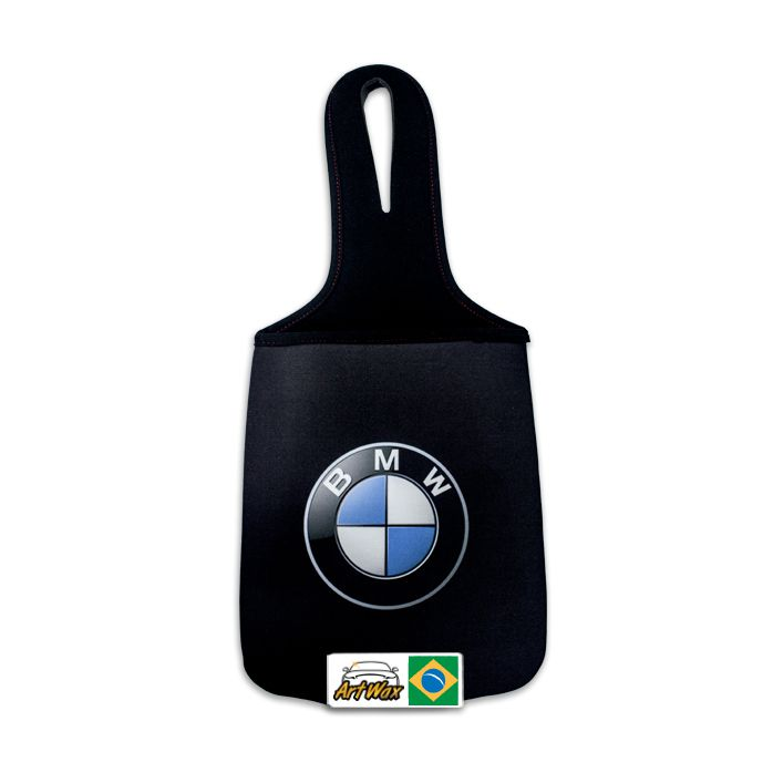 Lixeira Automotiva Neoprene BMW