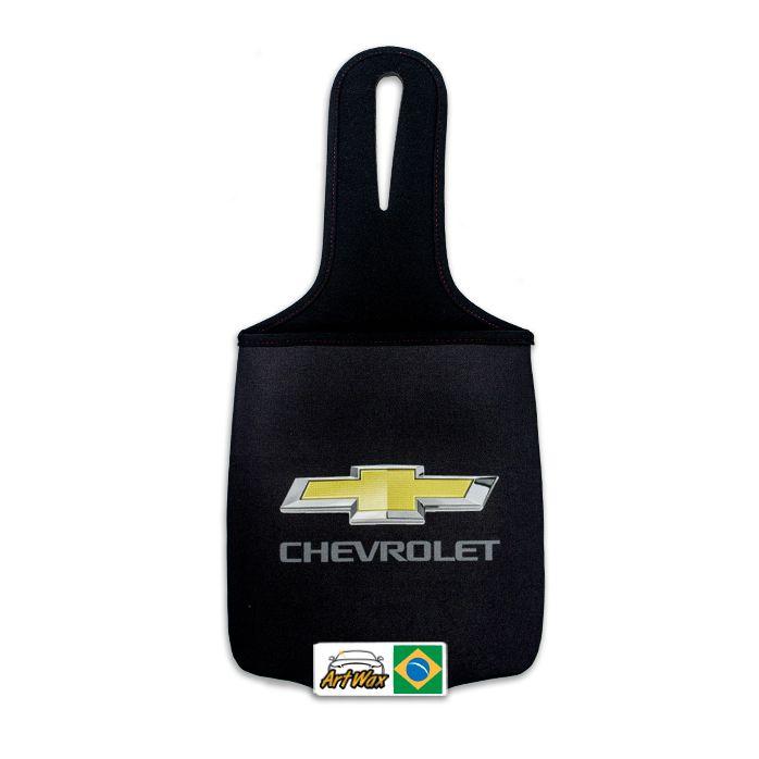 Lixeira Automotiva Neoprene Chevrolet