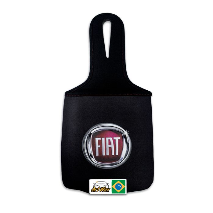 Lixeira Automotiva Neoprene Fiat