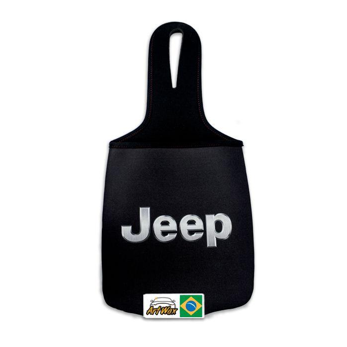 Lixeira Automotiva Neoprene Jeep