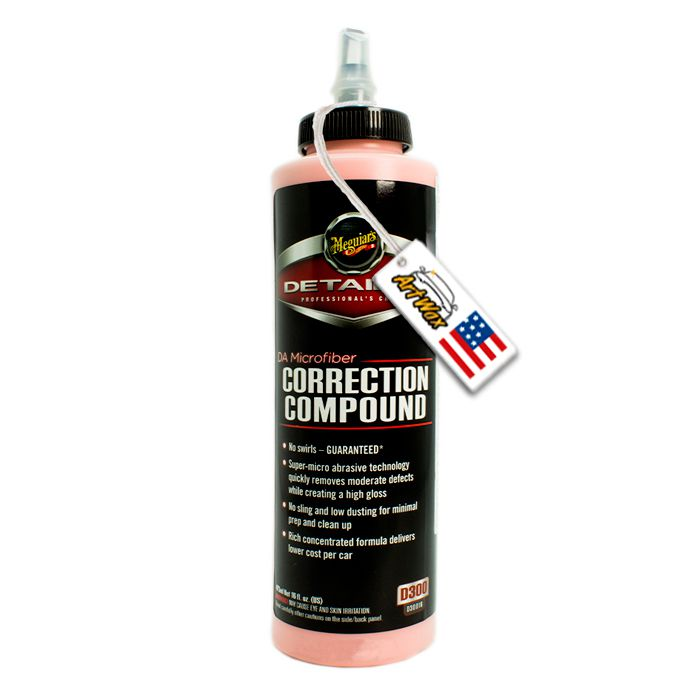 Meguiars DA Correction Compound D30016 - Polidor/Restaurador - 473ml.