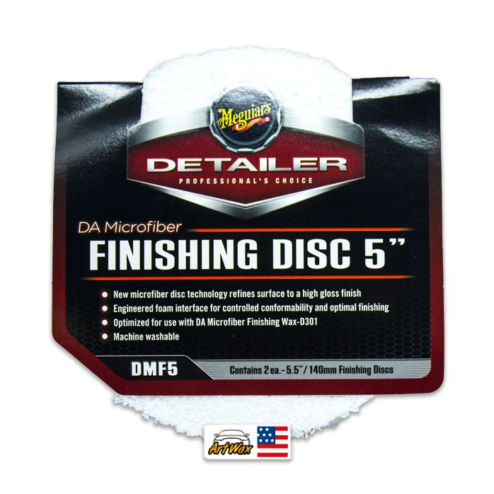 Meguiars DA Finishing Disc - Boina em microfibra 5
