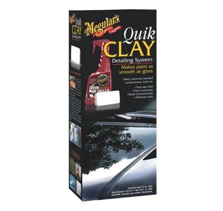 Meguiars Kit Quik Clay Bar - Remove contaminações