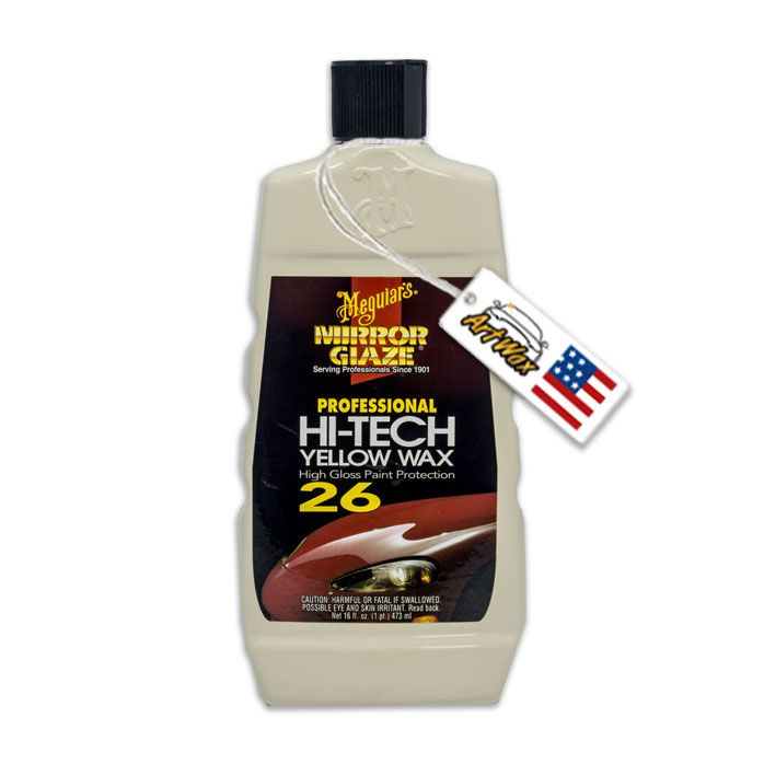Meguiars Mirror Glaze Hi-Tech Líquid Wax - 473ml - cera de carnaúba