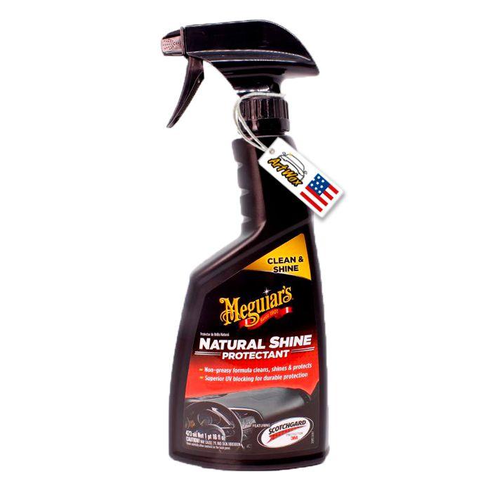 Meguiars Natural Shine-Hidratante Protetor de Plástico 473mL