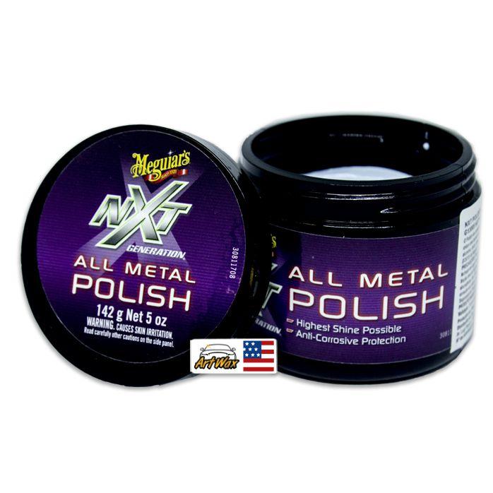 Meguiars NXT Polidor de Metais All Metal Polish, (142g)