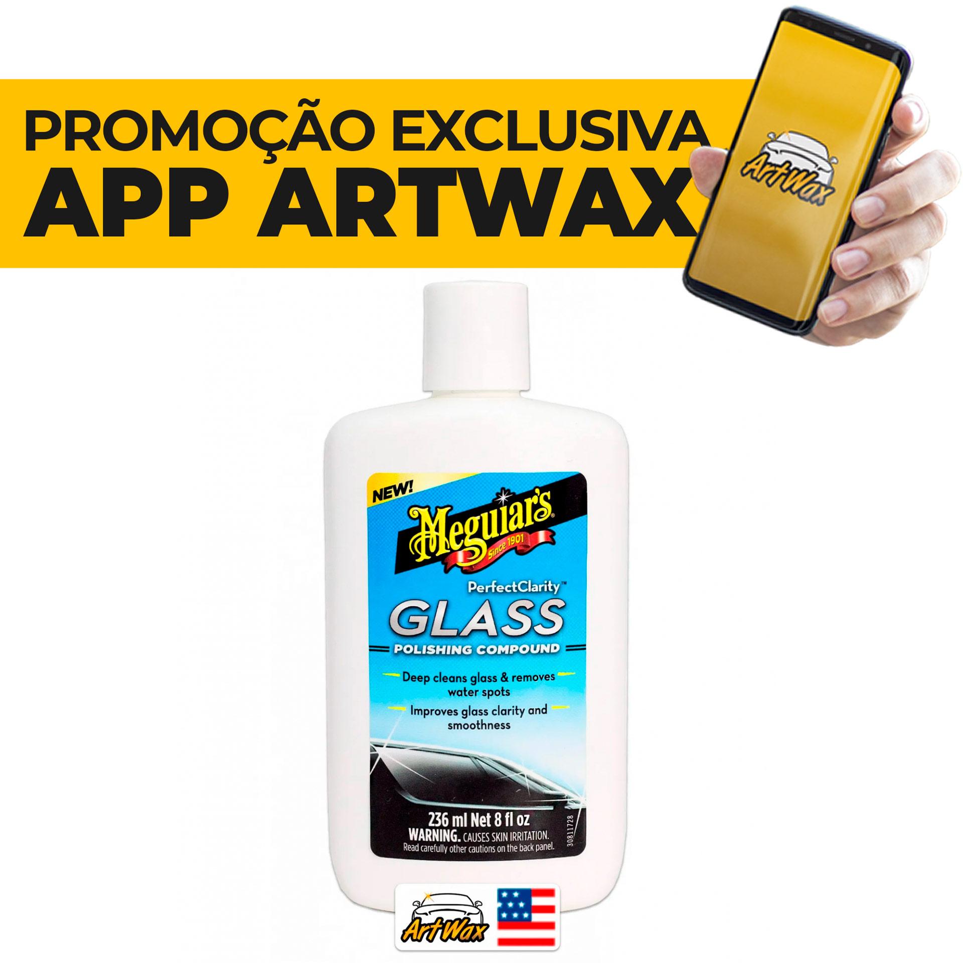 Meguiars Perfect Clarity Glass G8408 - Descontaminante Para Vidros 236ml