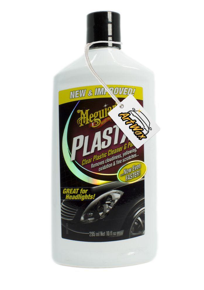 Meguiars PlastX Polidor de Faróis e Lanternas - 296ml