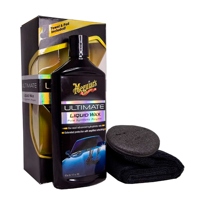 Meguiars Ultimate Liquid Wax (liquida) - Cera Protetora Sintética - 473mL