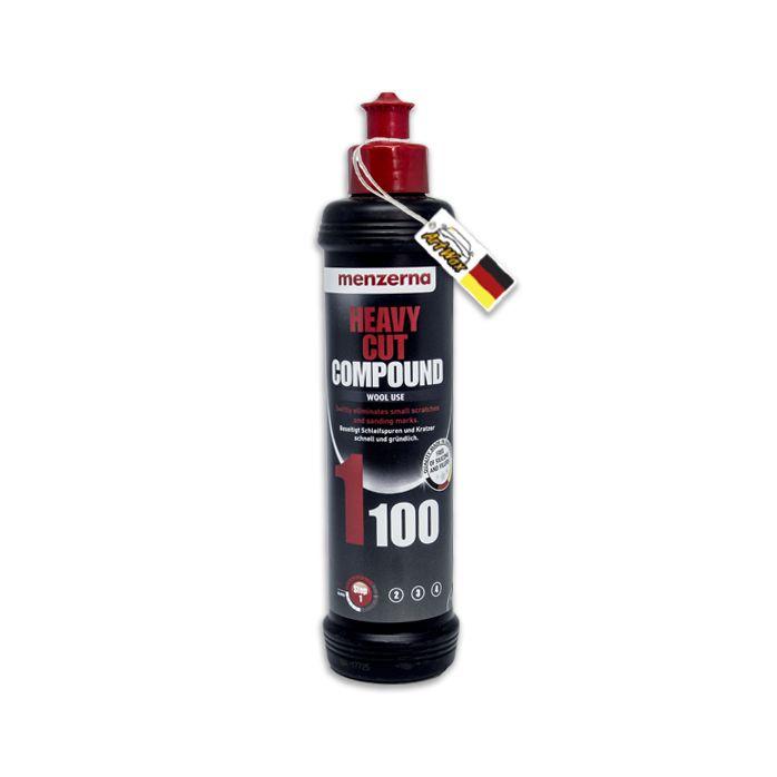 Menzerna 1100 Heavy Cut Compound Composto Polidor Corte - 250ml