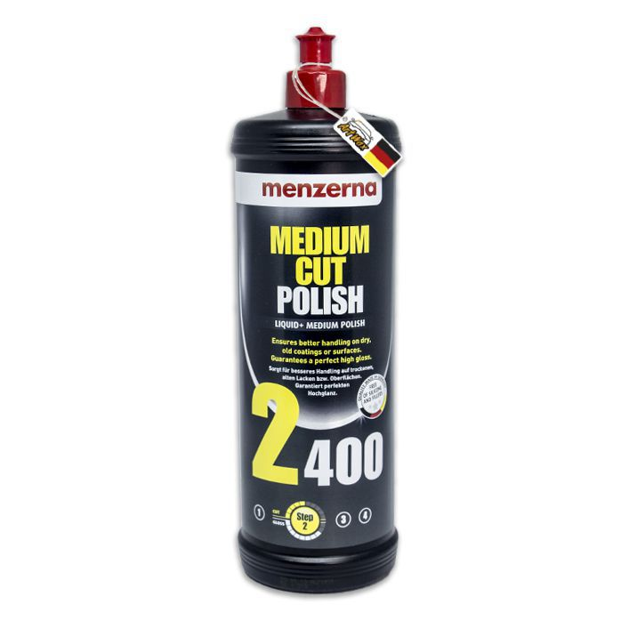 Menzerna 2400 Medium Cut Polish Composto Polidor Refino - 1L