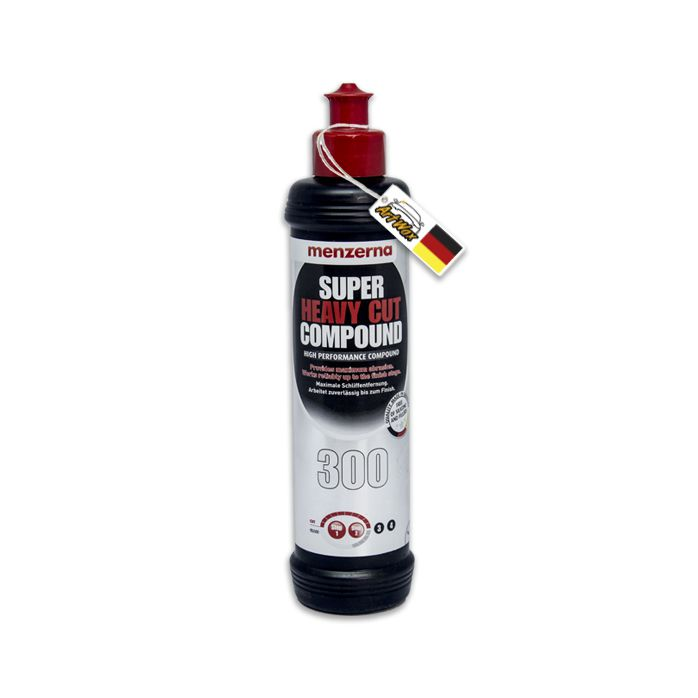 Menzerna 300 Super Heavy Cut Composto Polidor Corte - 250ml