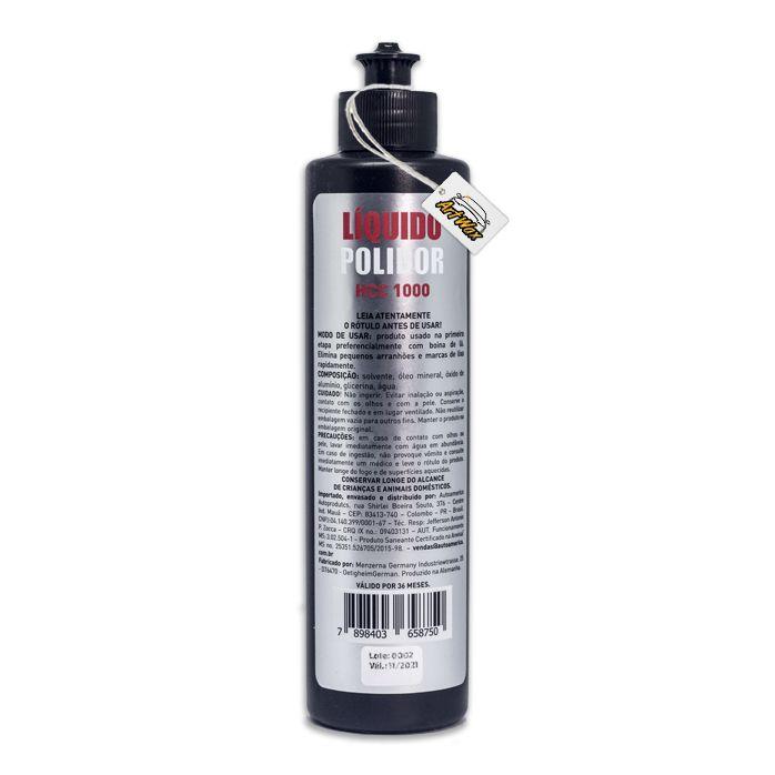 Menzerna HCC1000 Liquido Polidor Corte 300ml