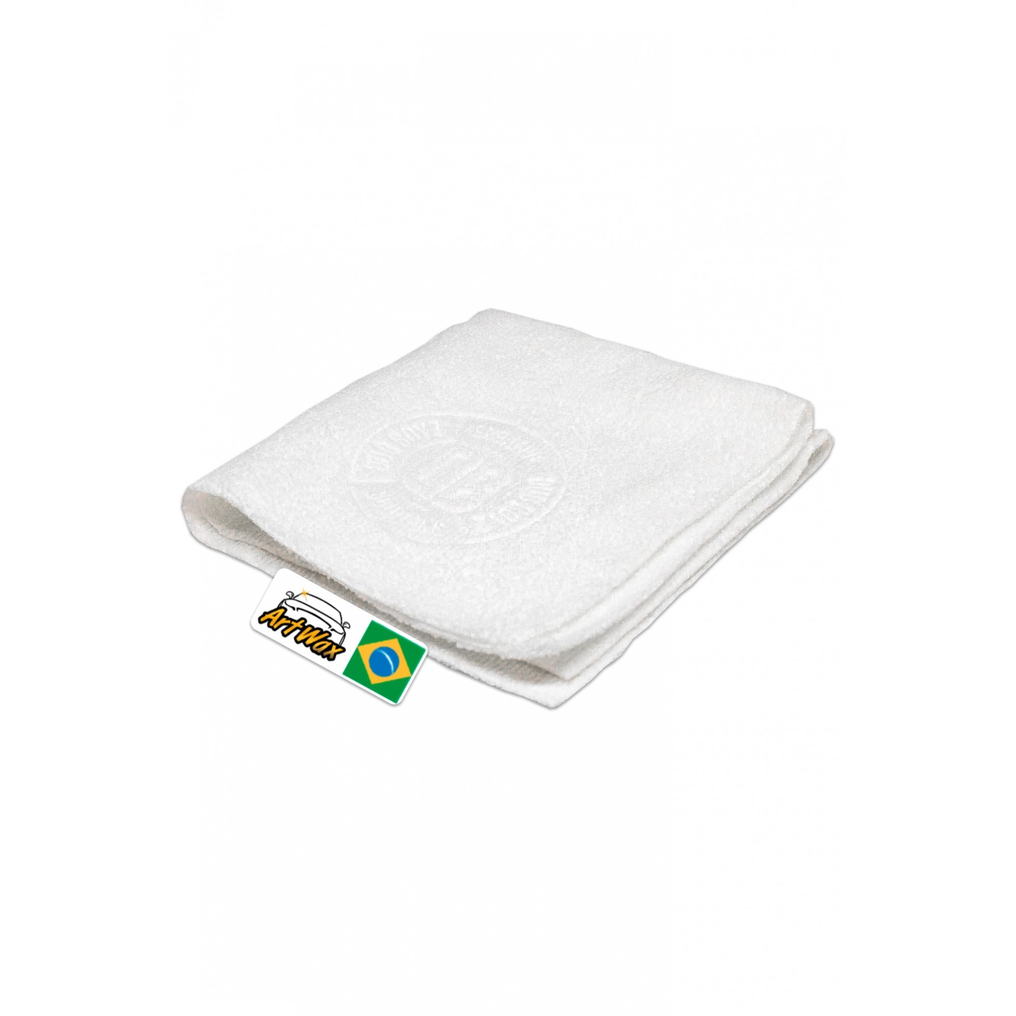 Microfibra Vitrificação Branca DB Coating Towel 30x30cm - 300gsm Dub Boyz
