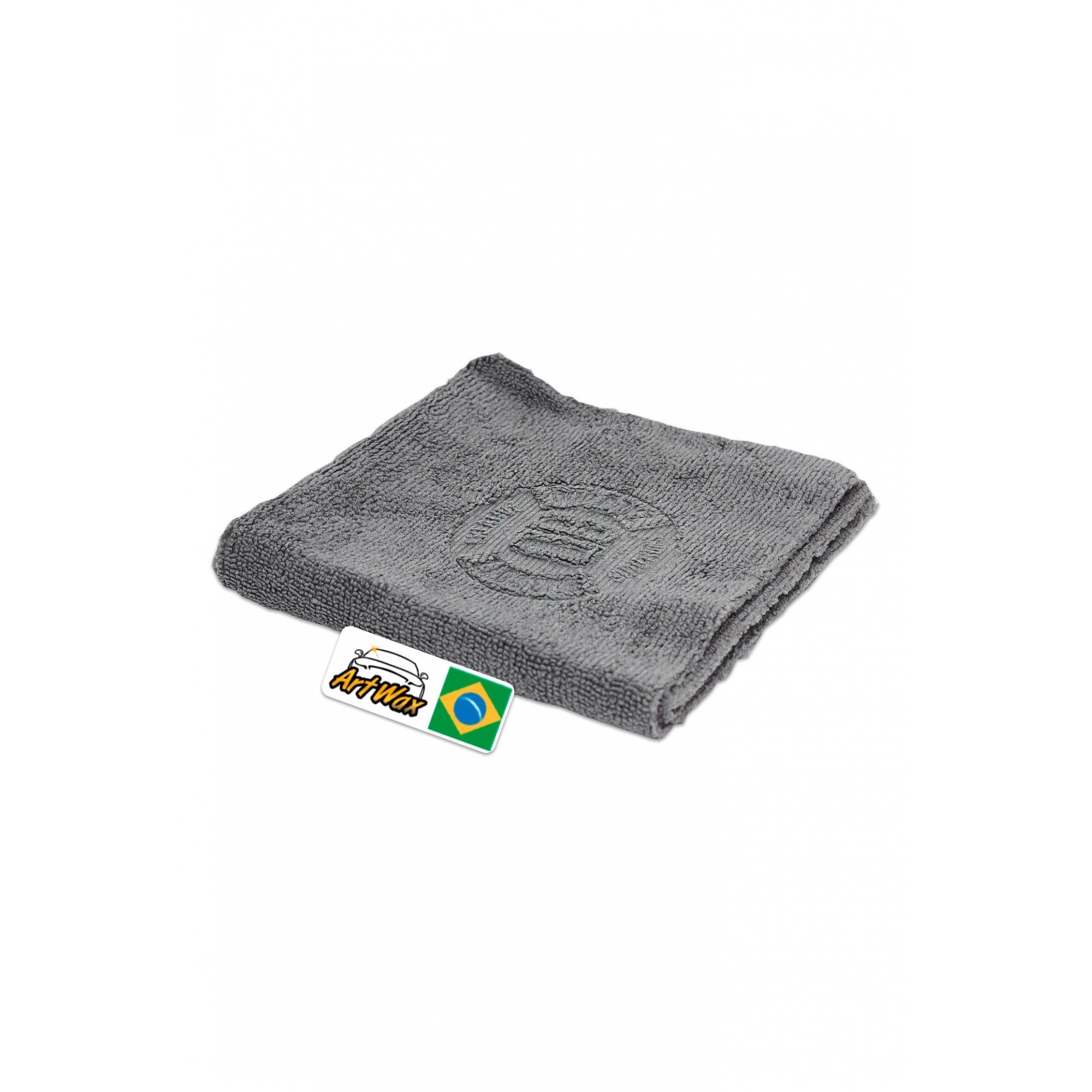 Microfibra Vitrificação Cinza DB Coating Towel 30x30cm - 300gsm Dub Boyz