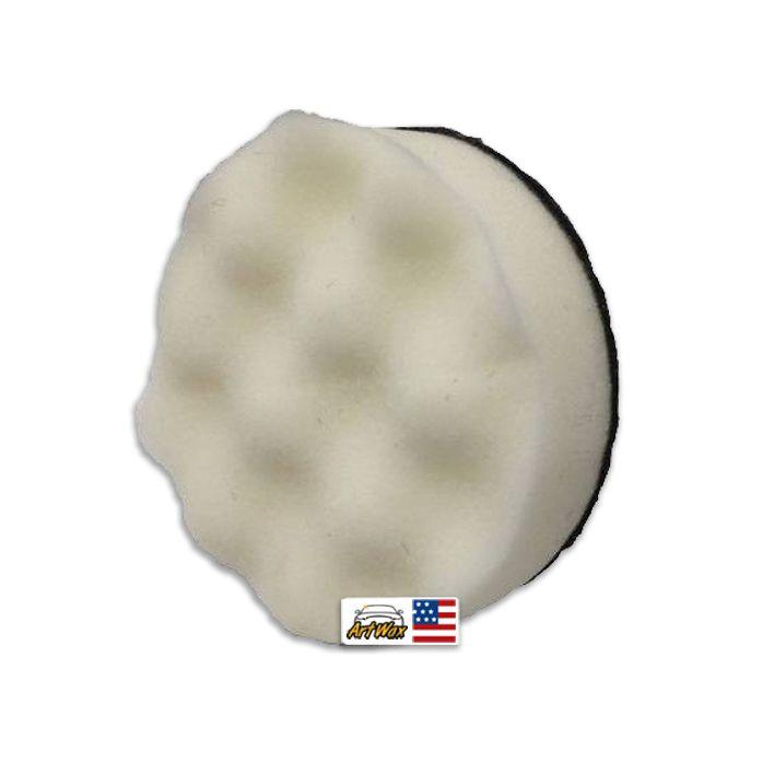 Mills Boina de Espuma Ondulada Branca Macia 5