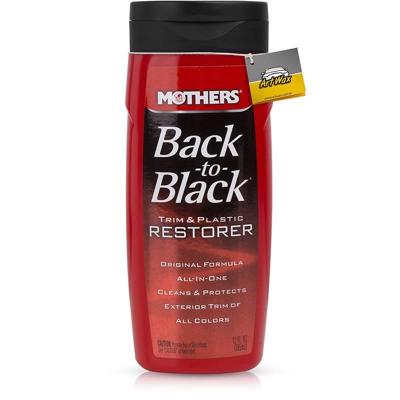 Mothers Back to black Renova plástico 355mL