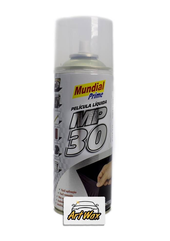 Mundial Prime Película Liquida MP30 Spray Metálico Alumínio - 500ML