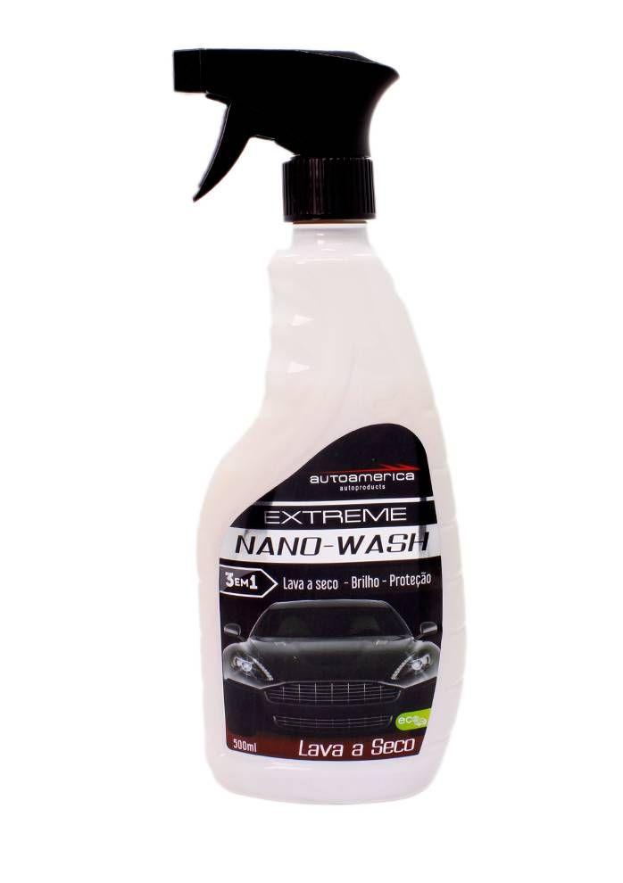 Nano Wash Lava a Seco Autoamerica - 500ml