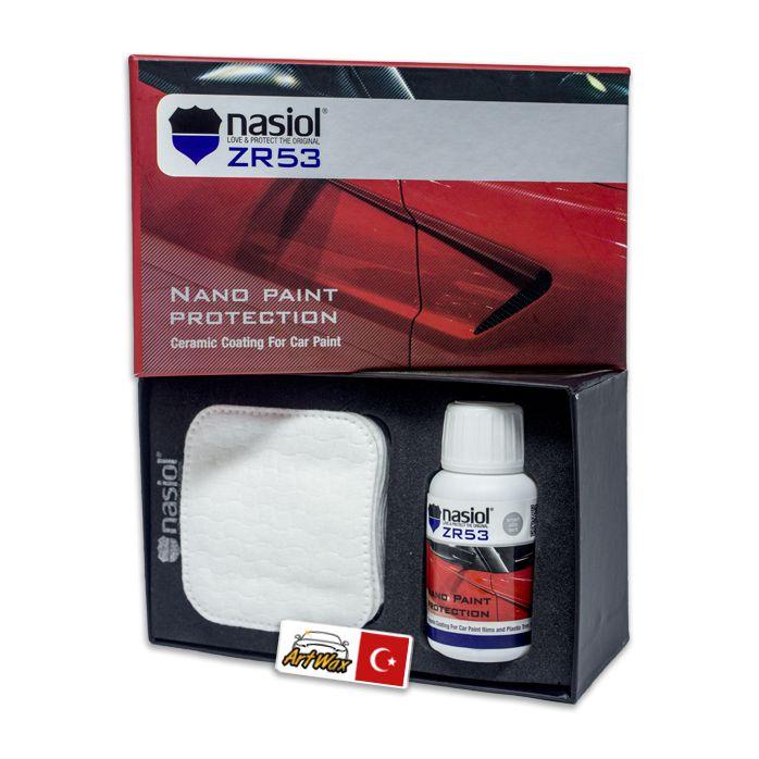 NASIOL ZR53 - Nanoproteção Cerâmica com Dureza 9H - 50ml