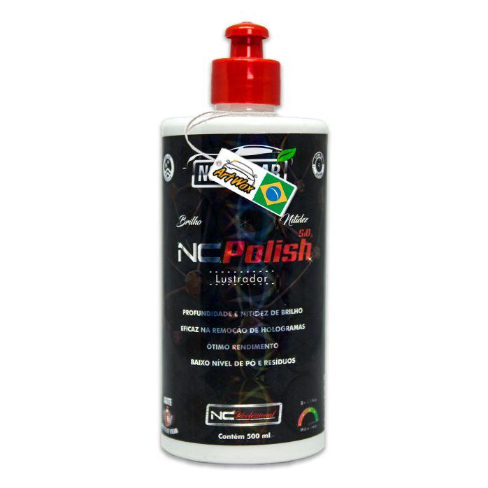 NC Polish Polidor Lustrador Professional Nobre car 500ml