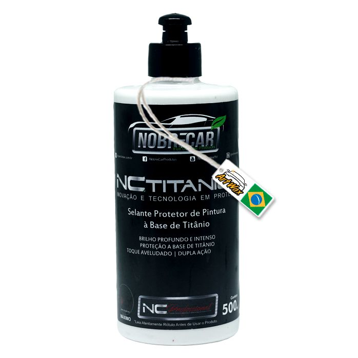 NC Titanium Selante e Proteção de Pintura Nobre Car 500ml