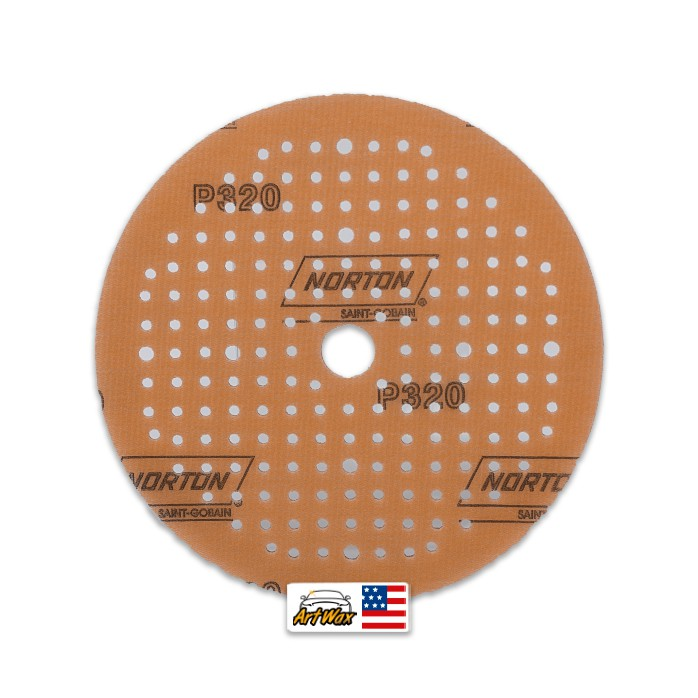 Norton Disco de Lixa Seco A275 - P320 6