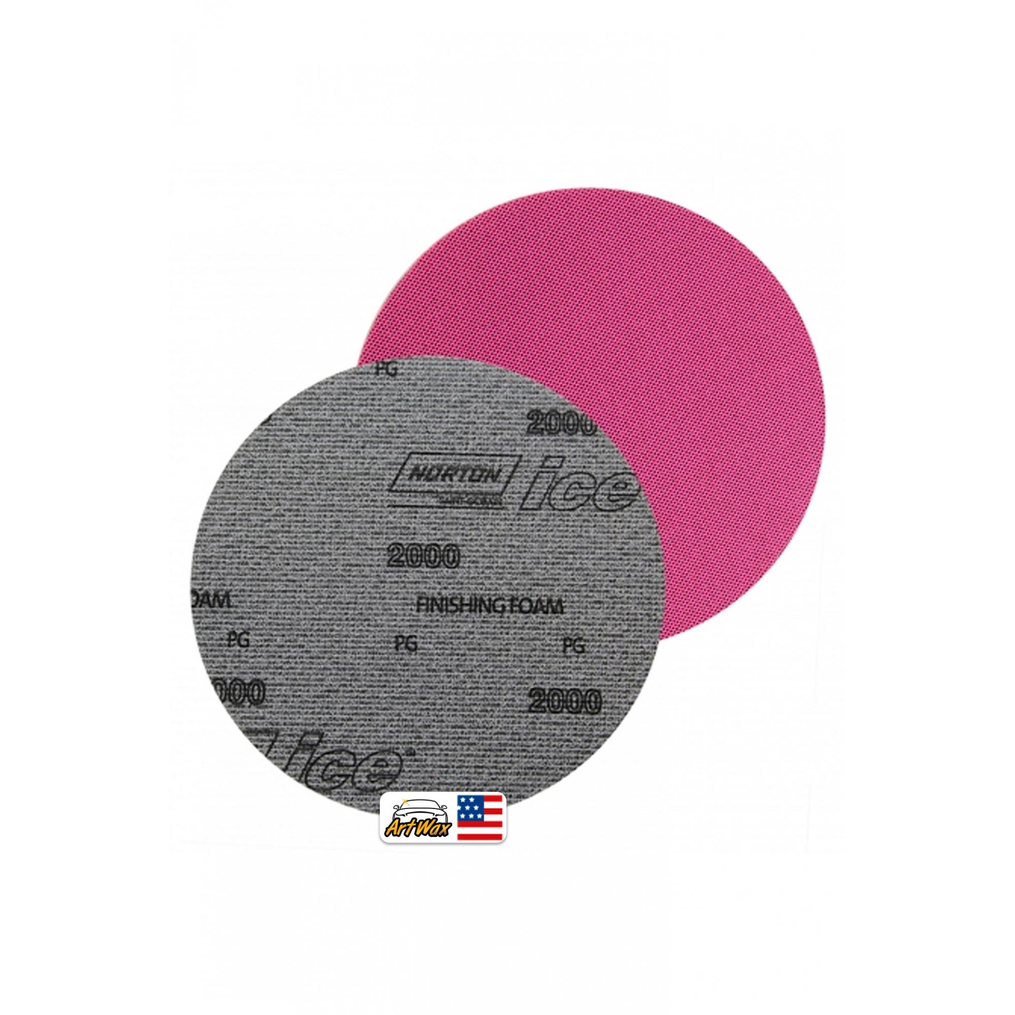 Norton Disco de Lixa Umido Ice Soft-Touch Q255 - P2000 6