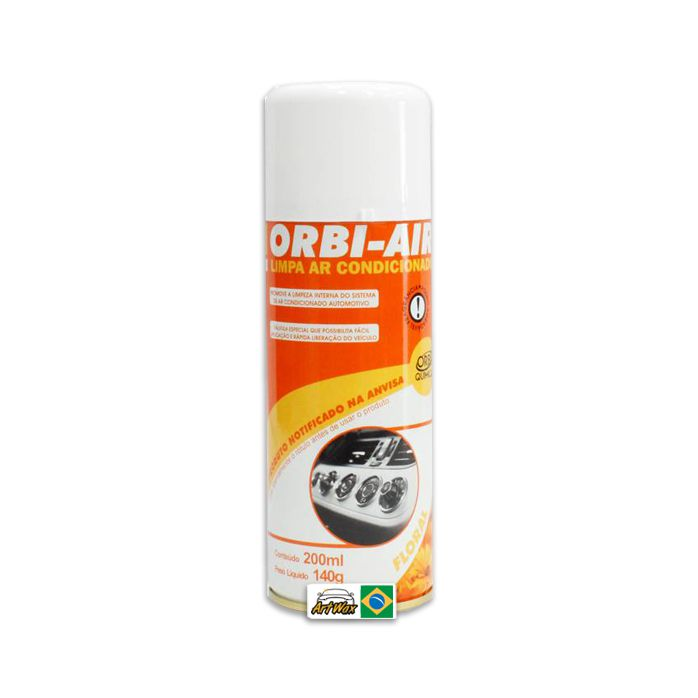 Orbi Air Limpa Ar Condicionado Floral - 200 ml