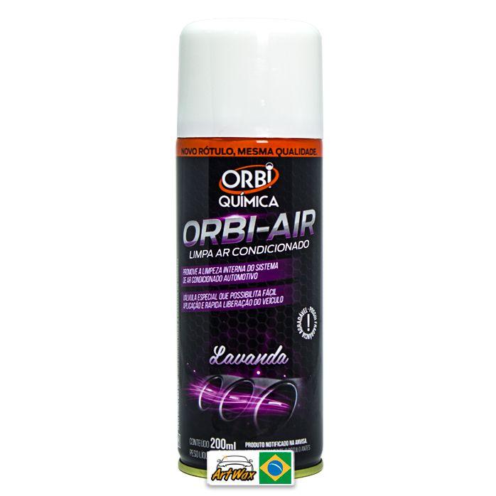 Orbi Air Limpa Ar Condicionado Lavanda - 200 ml
