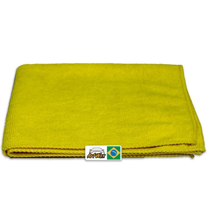 Pano de Microfibra Detailer Amarelo 38x38cm  230gsm