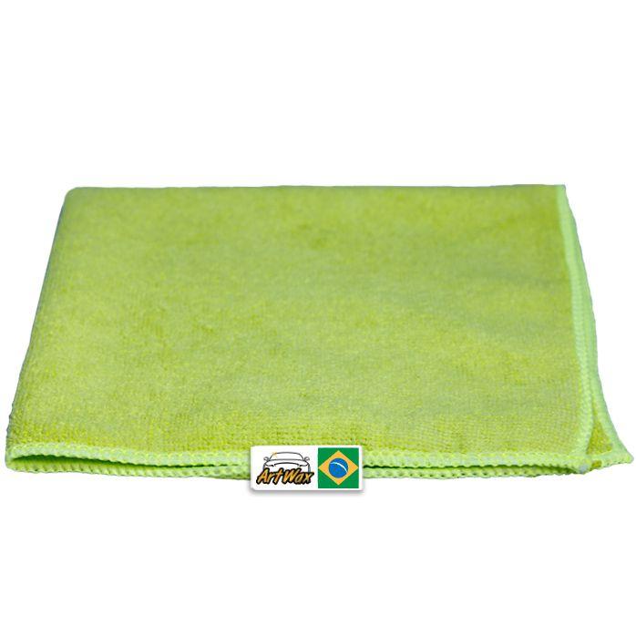 Pano de Microfibra Mandala Verde 38x38cm - 1un - 230gsm