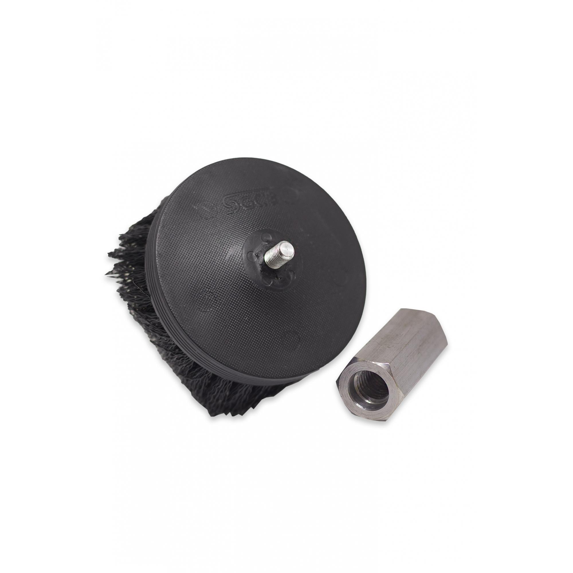 Pneumatic Carpet Brush - Escova Agressiva Para Carpetes -  Uso em Politriz SGCB