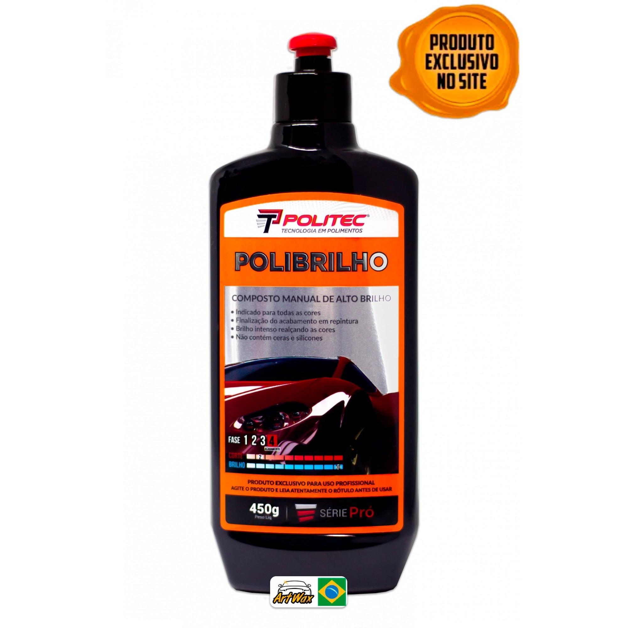 Polibrilho 450g - Composto Manual de Alto Brilho Base D'Água Politec