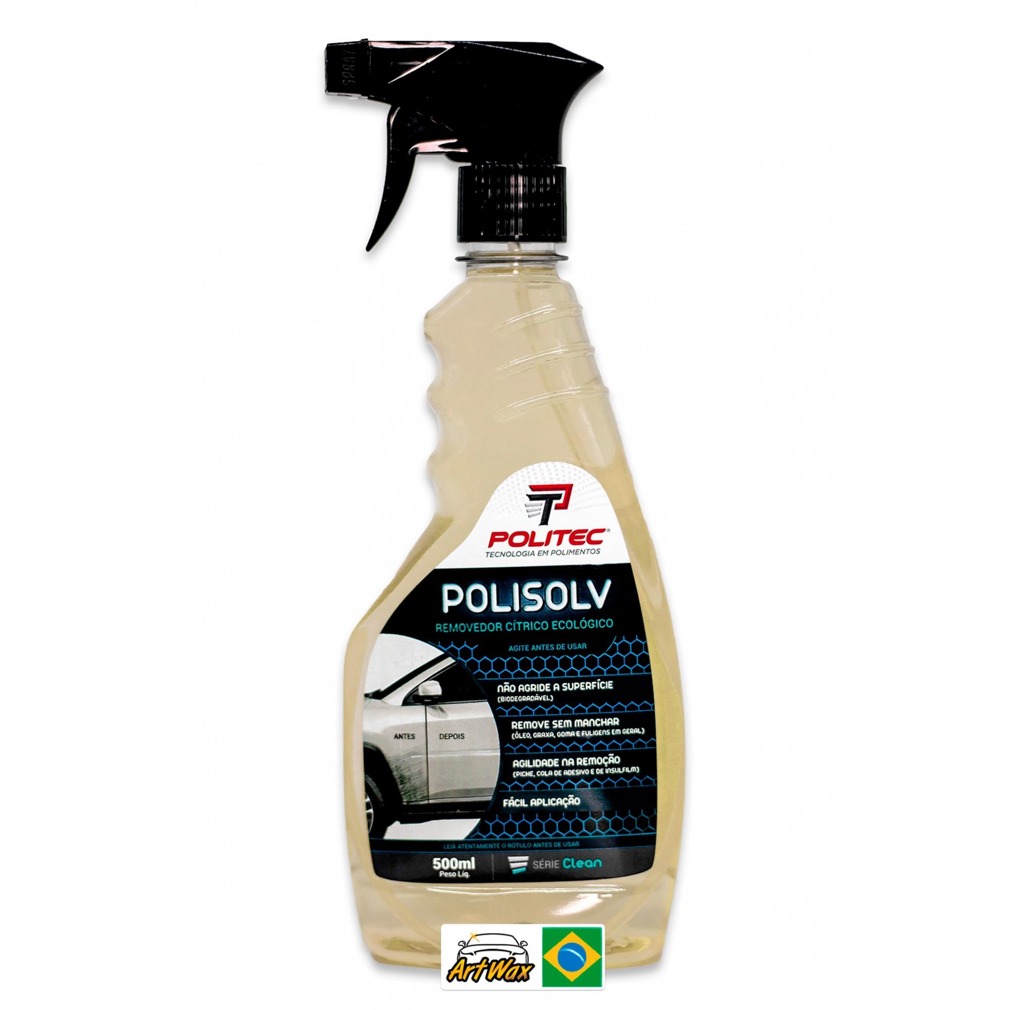 Polisolv 500ml - Removedor de Cola e Piche Politec