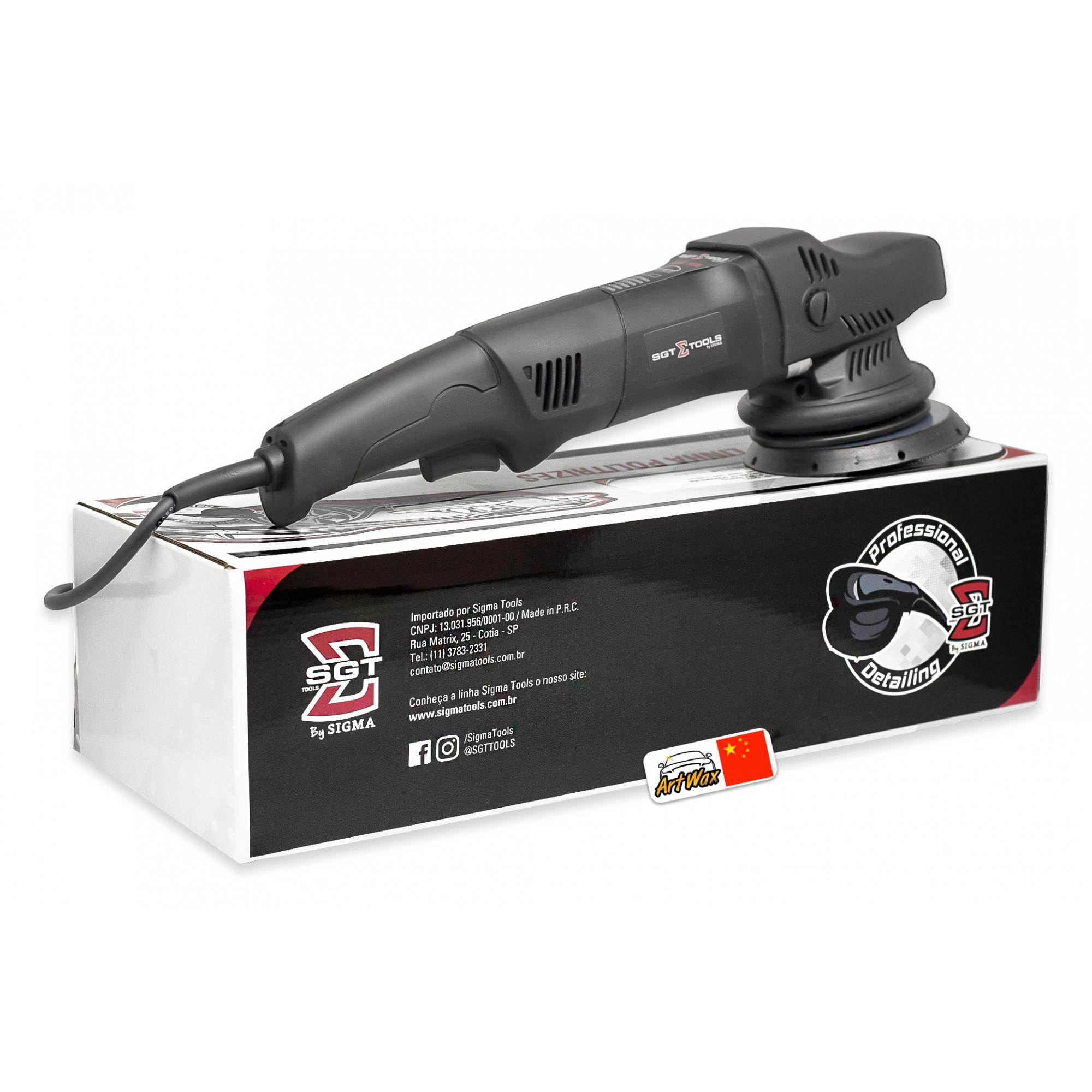 Politriz Roto Orbital 15mm Premium SGT 5115 - 220v 1200w Sigma Tools