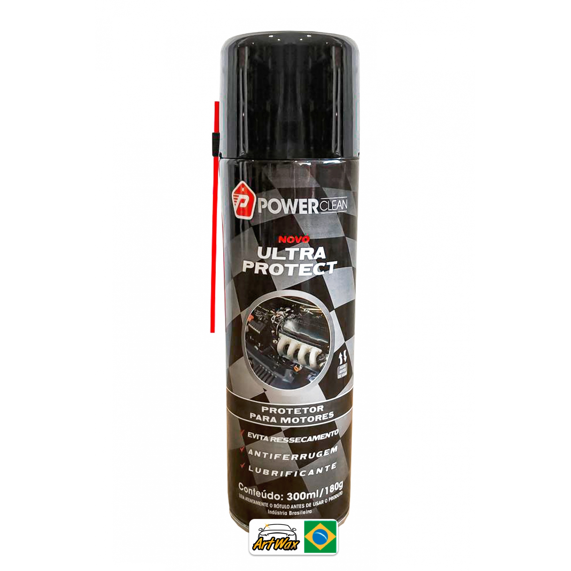 Power Clean Ultra Protect 300ml - Verniz de Motor Spray