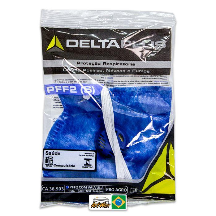 Pro Agro PFF2 - Respirador Semifacial Descartável Delta Plus