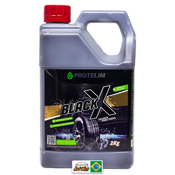 Protelim Black X 2Kg - Selante Para Pneus