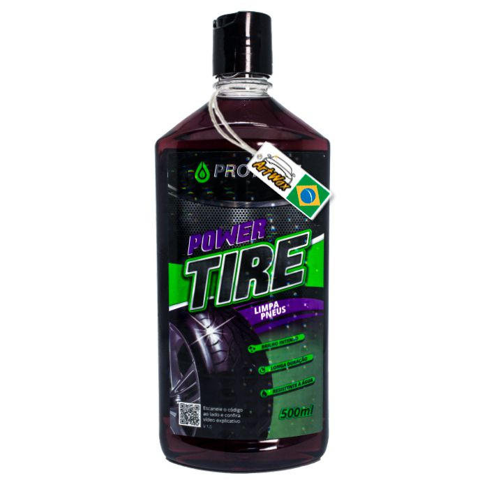 Protelim Power Tire 500ml - Pneu Pretinho