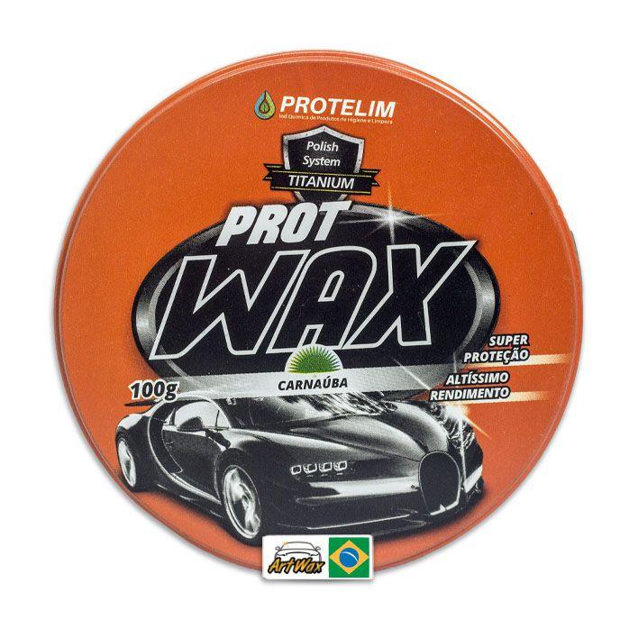 Protelim Prot Wax Cera Protetora de Carnauba 100gr
