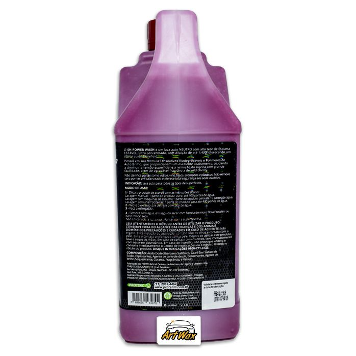 Protelim Shampoo Power Wash 2,2L Concentrado 1:400