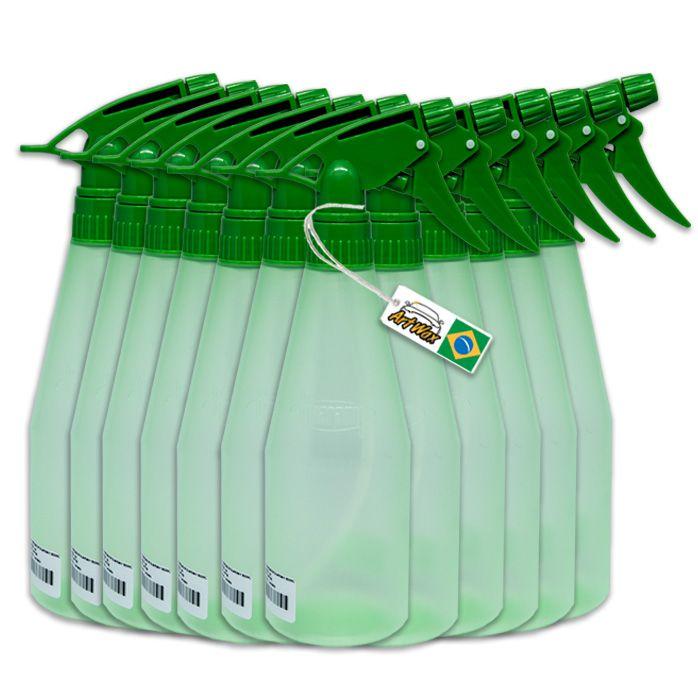 Pulverizador Guarany  500ml - 12 unidades Verde